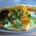 Mushroom Pepper Tacos