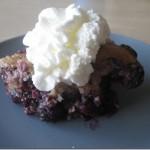 Tasty Tuesday–Blueberry–Cherry Cobbler