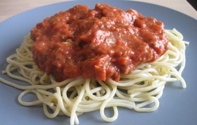 National Spaghetti Day–Bolognese Sauce Recipe - Upstate Ramblings