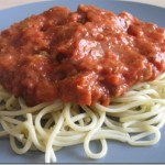 National Spaghetti Day–Bolognese Sauce Recipe