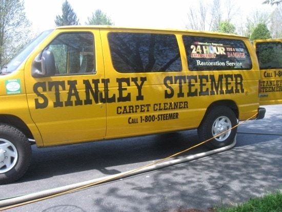 Stanley Steemer Gift Certificate Review And Giveaway