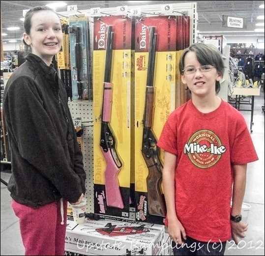 Choosing a Daisy Red Ryder BB Gun