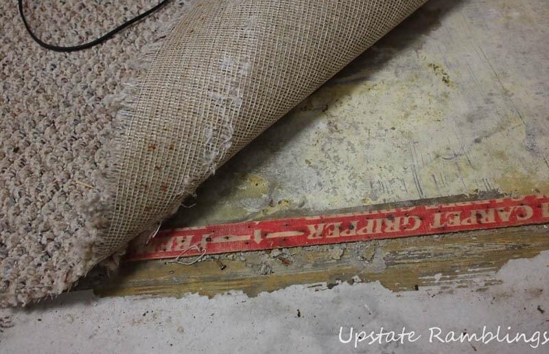 basement carpet woes upstate ramblings