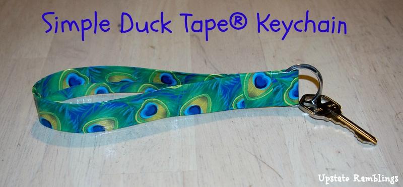 Duck Tape KeyChain