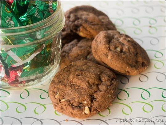 Andes Creme de Menthe Cookies