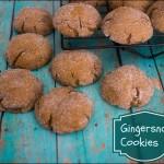 Gingersnap Cookie Recipe – Christmas Cookies