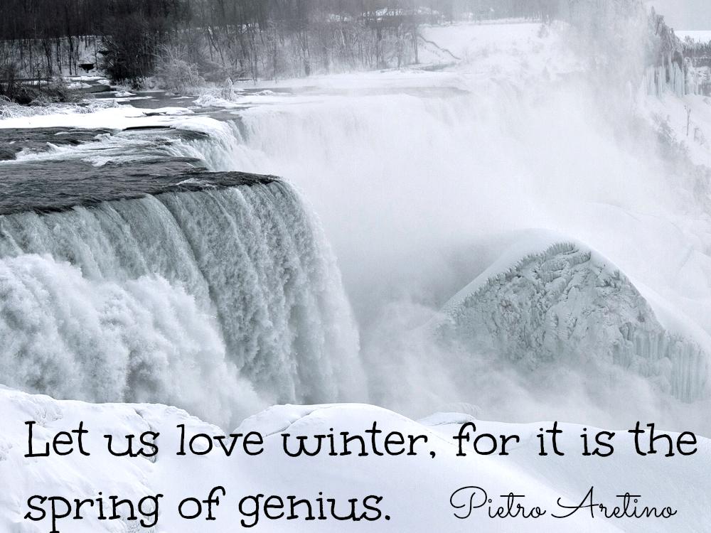 Pietro Aretino Quote About Winter