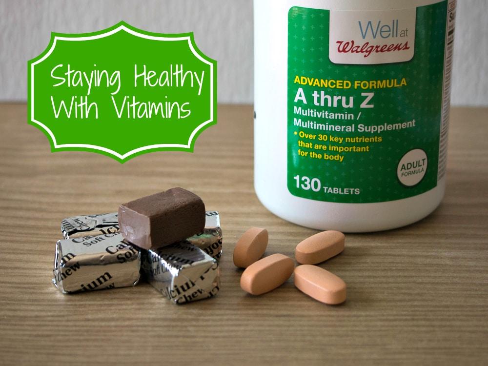Vitamins from Walgreens #shop