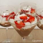 Strawberry Mocha Trifle