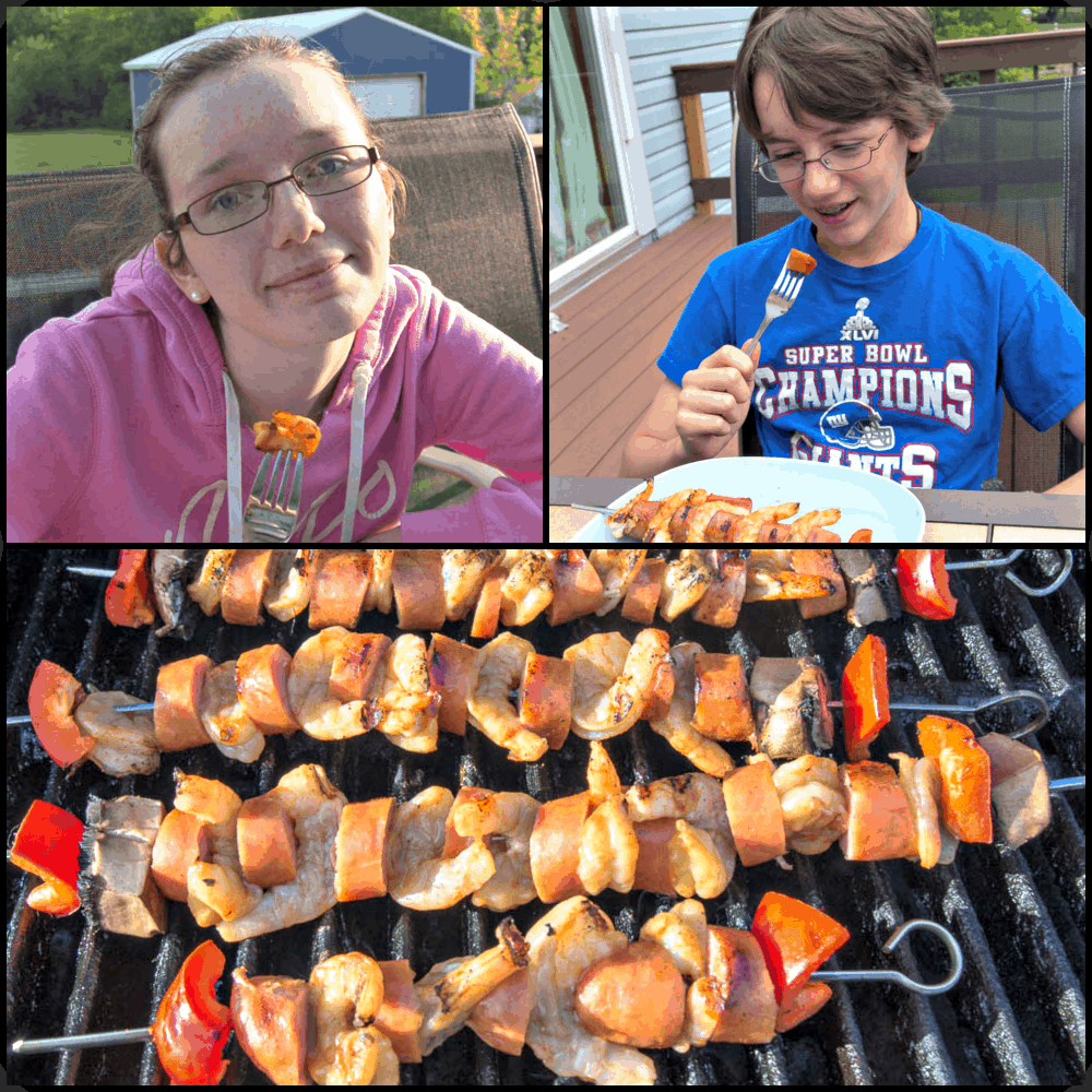 Fun Bbq Recipes: Shrimp And Sausage Kebob Recipe- Upstate Ramblings
