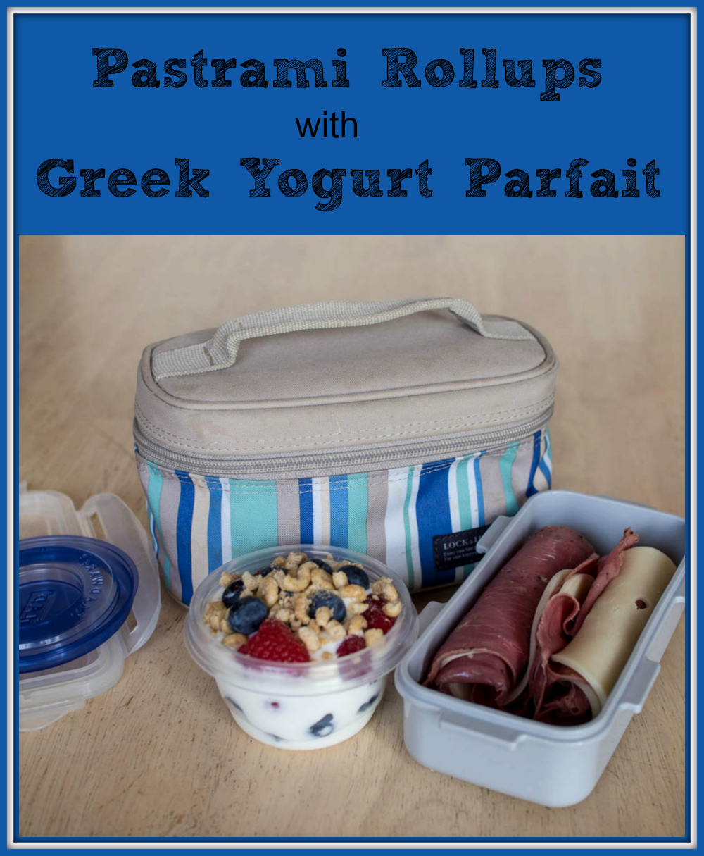 Pastrami Rollups with Greek Yogurt Parfait #PriceChopperB2S #shop
