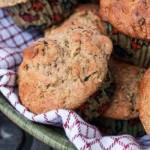 Whole Wheat Zucchni Muffins