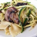 Zucchini Mushroom Pasta
