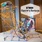 K'nex Raptor's Revenge Roller Coaster Review and Giveaway