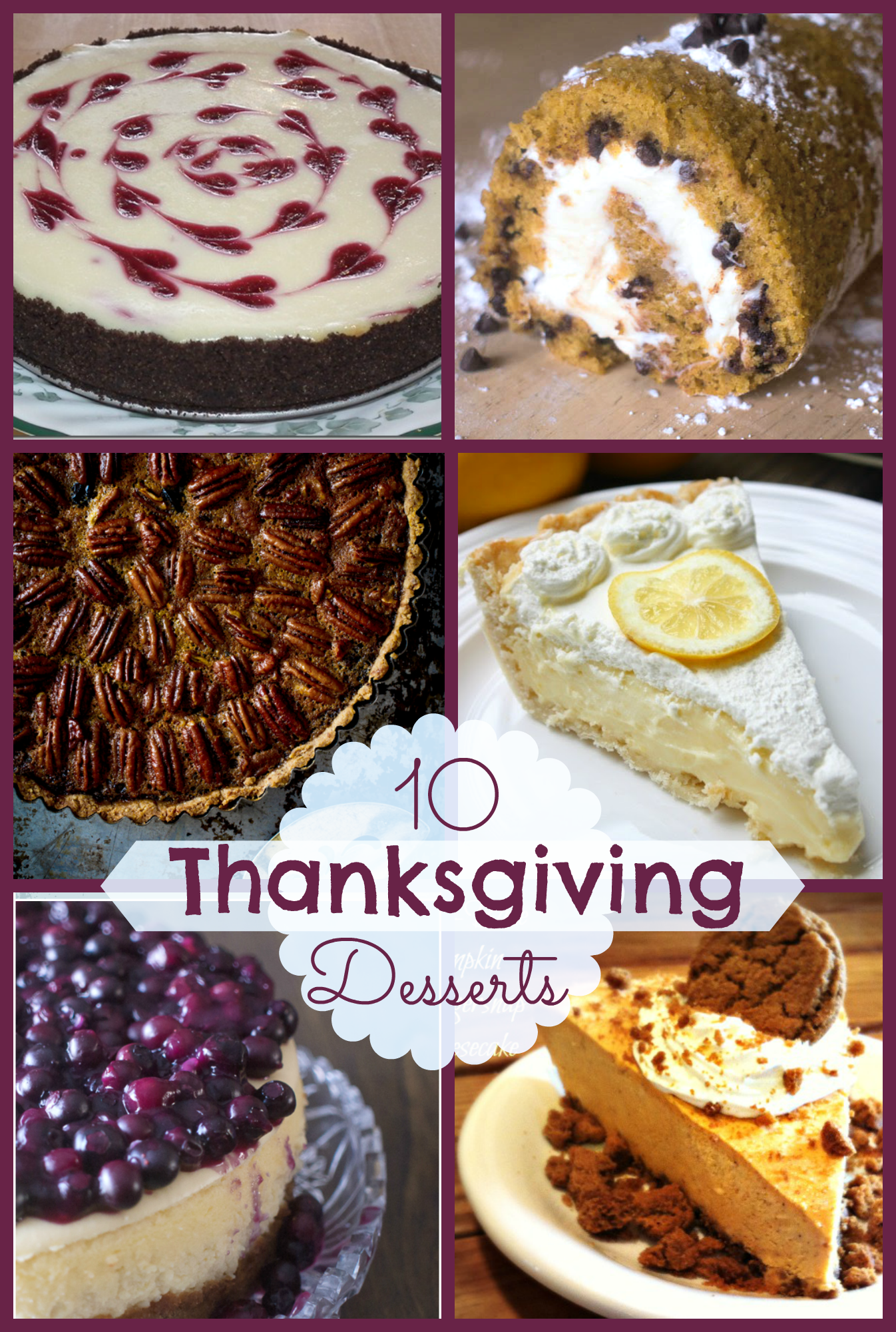 10 Fabulous Thanksgiving Desserts