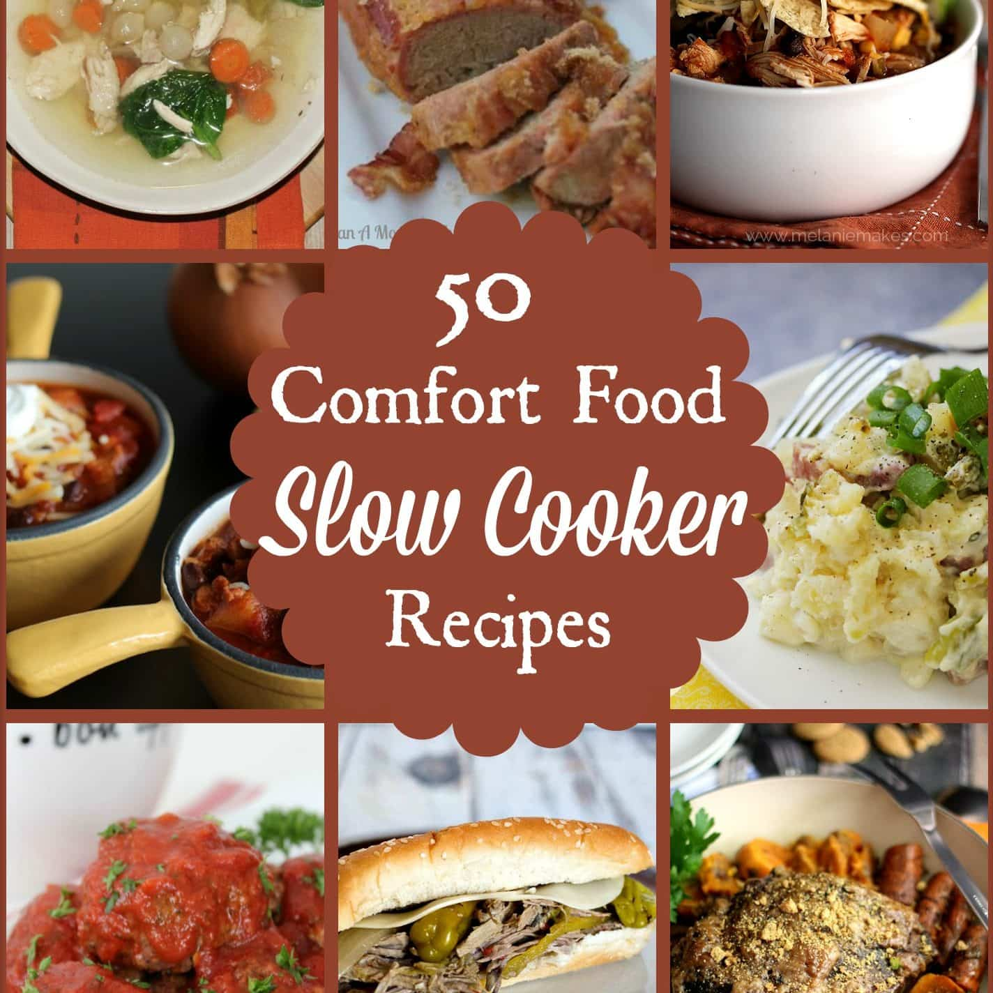 50 Classic Comfort Food Recipes For The Slow Cooker
