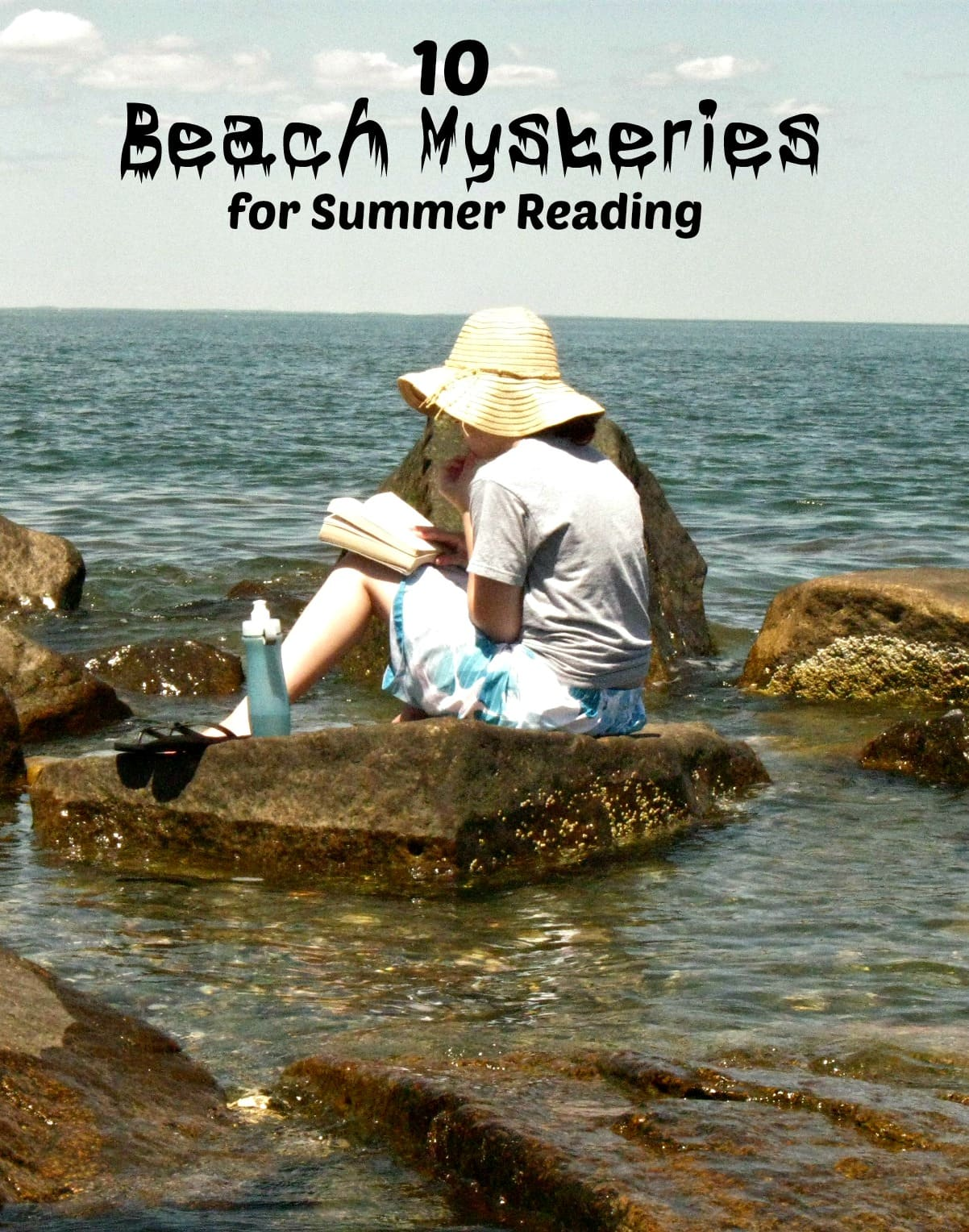 10 Beach Mysteries for Summer Reading - Enjoy a mystery on the beach this summer as you relax in the sun and sand
