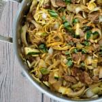 Zucchini Sausage Casserole
