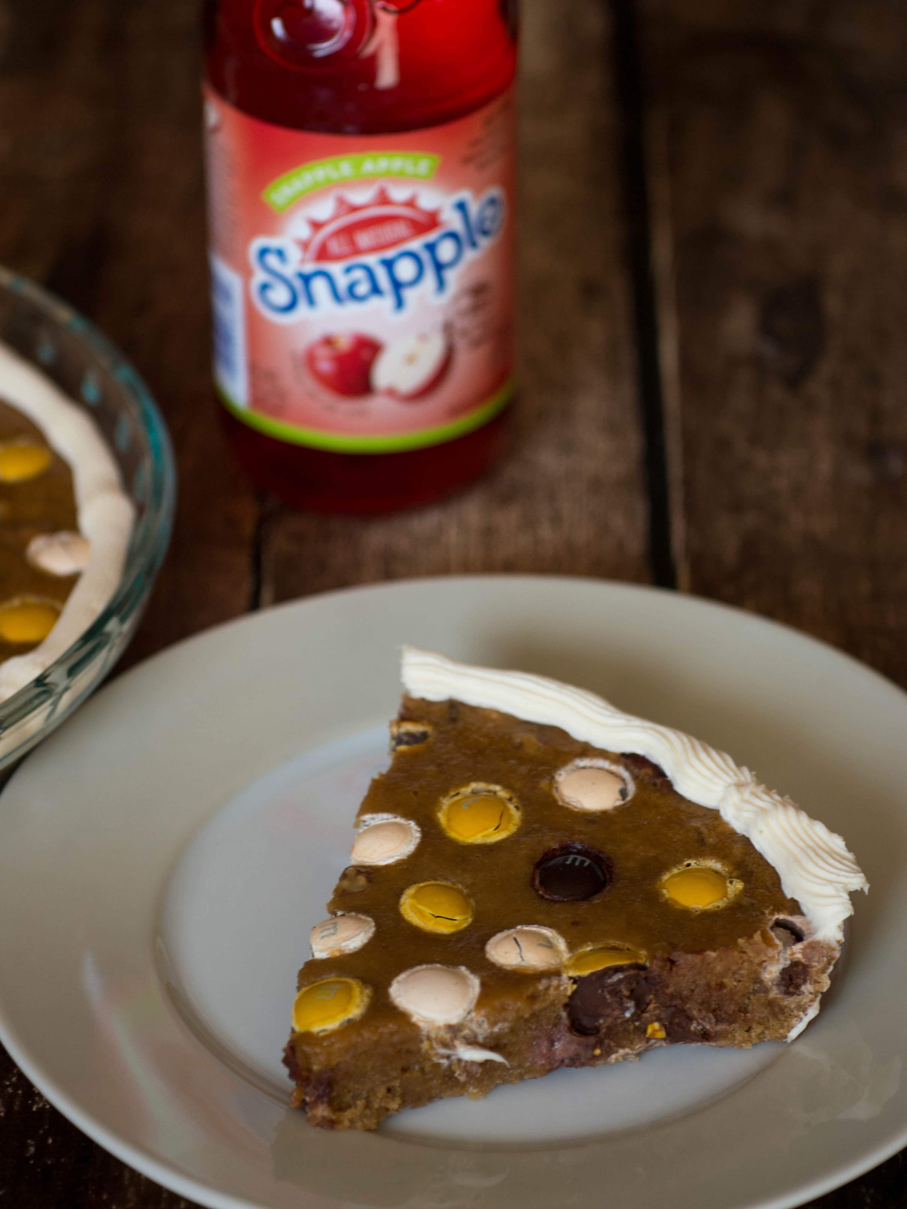 Pecan Cookie Pie with Snapple Apple