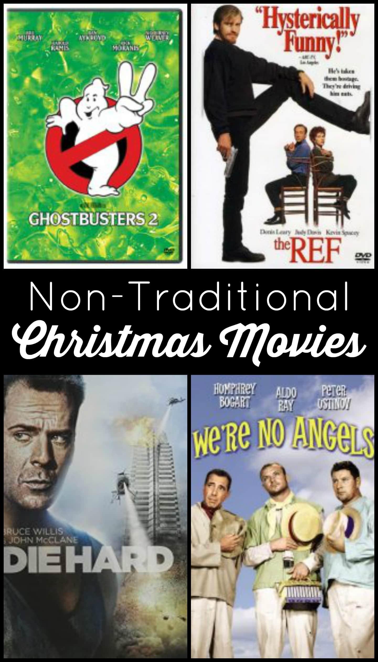 non traditional christmas movies