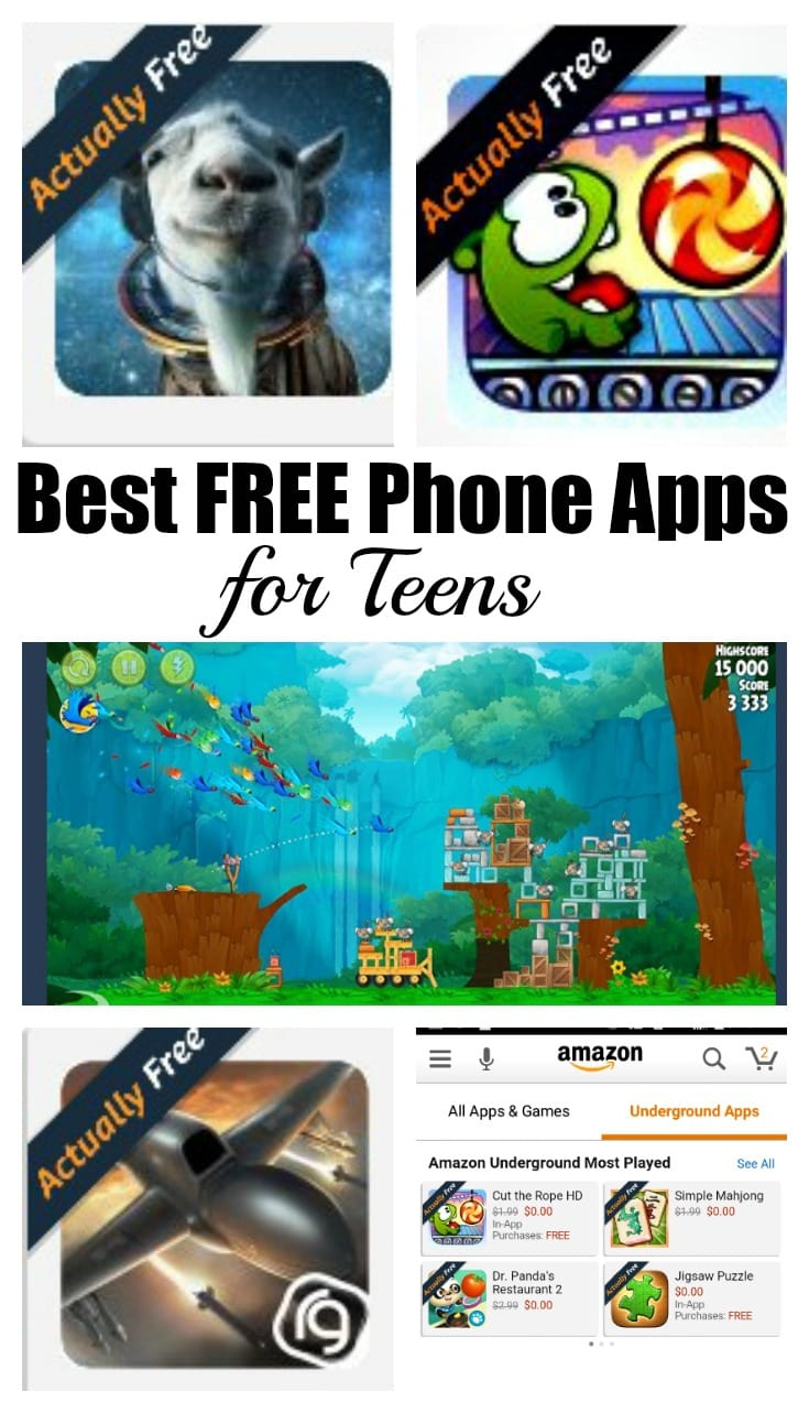 Best Free Phone Apps for Teens