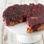 Cranberry Cinnamon Roll Cake