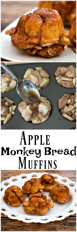 Apple Monkey Bread Muffins | Apple Pie Monkey Bread | Cinnamon | Easy Monkey Bread | Apple Muffins for kids | Monkey Bread Muffins