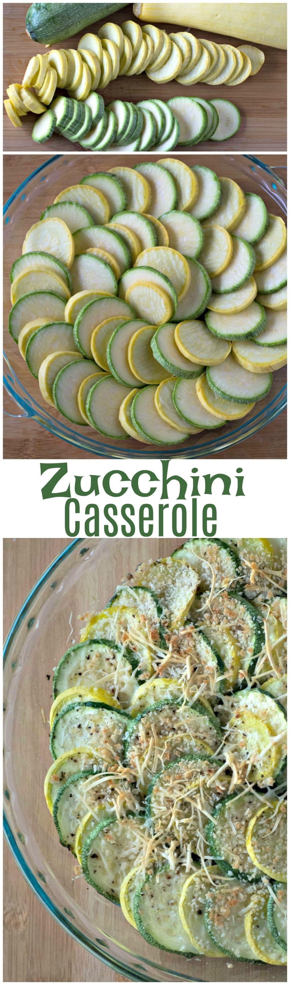 Zucchini Casserole Recipe | Summer Squash Casserole | Healthy Squash Casserole | Easy Thanksgiving Side Dish | Healthy Vegetable Casserole