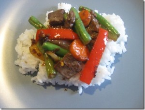 Sesame Stir Fried Beef