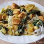 Thai Coconut Salmon with Spinach Recipe