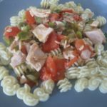 Tomatoes and Green Onions with Tuna – A Quick Dinner