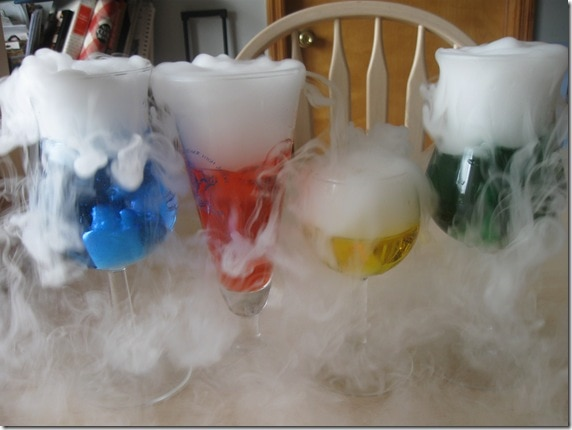Dry Ice Science Experiments