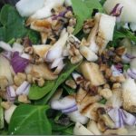 Spinach Pear Salad Recipe