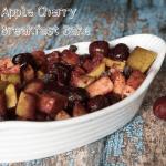 Apple Cherry Breakfast Bake Recipe