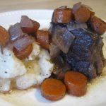 Beef Short Ribs Braised in Zinfandel