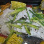 Caribbean Fish and Corn Recipe