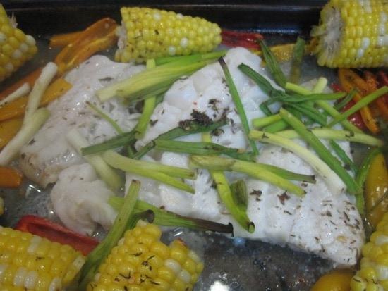 Caribbean fish and corn recipe upstate ramblings for Caribbean fish recipes