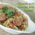 Quinoa with Chorizo and Chayote Squash Recipe