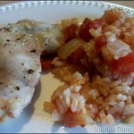 Baked Chicken with Rice and Tomatoes Recipe