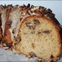Maple Pecan Nut Cake Recipe