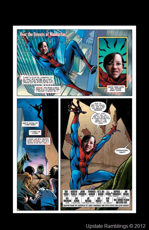 Custom Spider-Man Comic Book #SpiderManWMT