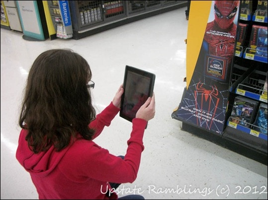Using the Web Slinger App at Walmart