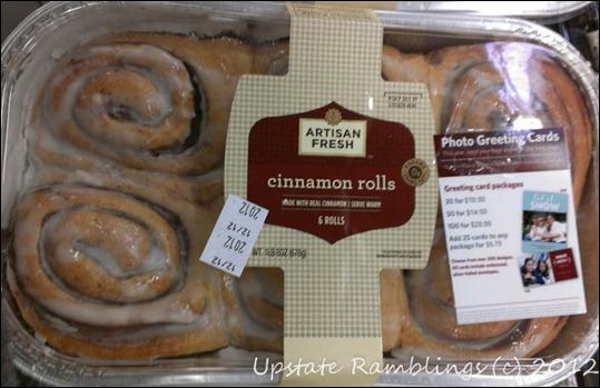 Sam's Club Artisan Cinnamon Rolls