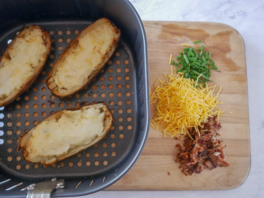 twice baked potatoes in the air fryer