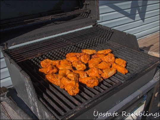Tyson Wings on the Grill