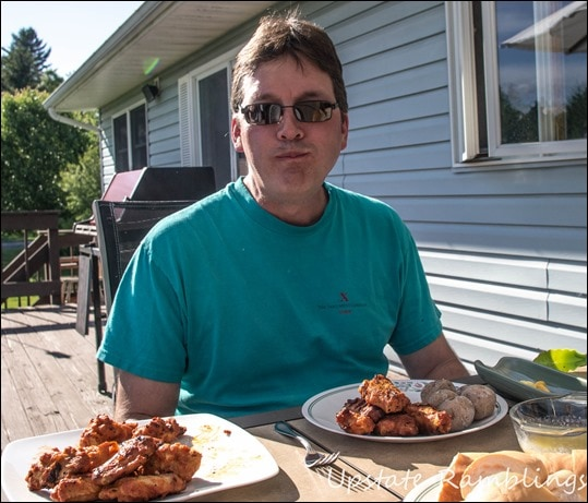 Father's Day Dinner with Tyson Buffalo Wings