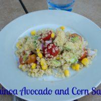 Quinoa Avocado and Corn Salad Recipe