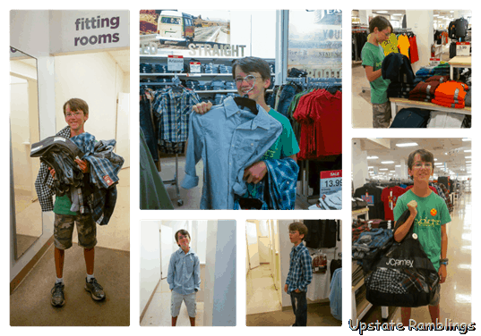 Back To School Shopping With Jcpenney Upstate Ramblings