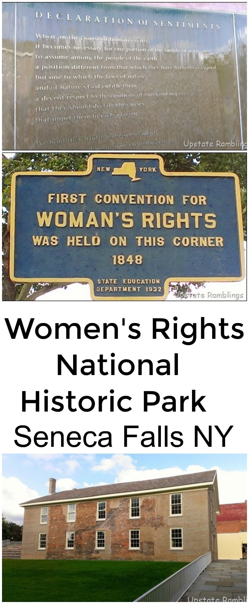 womens rights national historic park