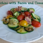 Zucchini with Bacon and Tomatoes Recipe